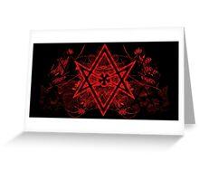 Thelema symbol Greeting Card