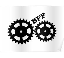 BFF Mechanism (black) Poster