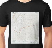 USGS TOPO Map Hawaii HI Mauna Loa 349577 1993 24000 Unisex T-Shirt