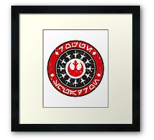 Rogue Squadron Framed Print