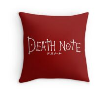 Death Note Anime Throw Pillow