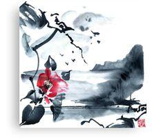 Sumi-e Canvas Print