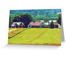 Farm Homestead Greeting Card