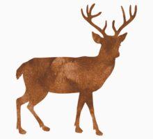 deer (watercolour) Baby Tee