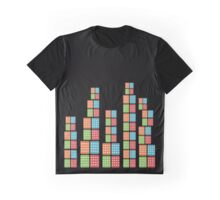 Houses of cards - Black Graphic T-Shirt