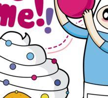 Cupjake Time!! Sticker