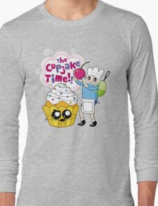 Cupjake Time!! Long Sleeve T-Shirt