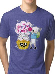 Cupjake Time!! Tri-blend T-Shirt