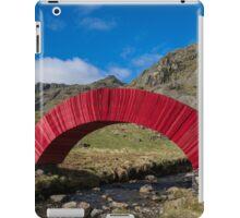Red Paper Bridge iPad Case/Skin