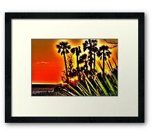 Bayport Palms Framed Print