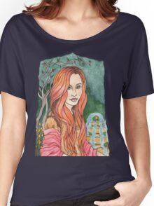 Russet Women's Relaxed Fit T-Shirt