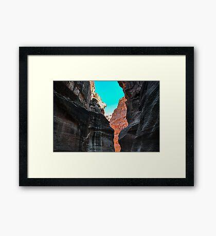 Light and Dark, Petra Jordan Framed Print