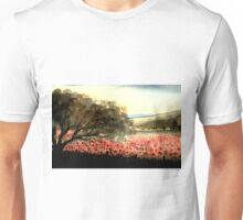 MYSTIC FIELD OF RED POPPIES - A DREAM OF PEACE Unisex T-Shirt