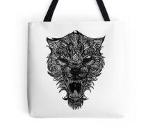 Wolf Scream Tote Bag