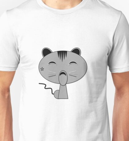 Meow Cat is Grey Tabby Unisex T-Shirt