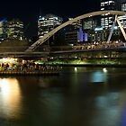 Ponyfish Island Evenings - Melbourne Australia by Norman Repacholi