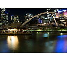 Ponyfish Island Evenings - Melbourne Australia Photographic Print