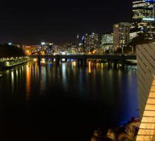 Last drinks - Melbourne Australia Sticker