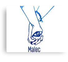 Malec Hands Canvas Print