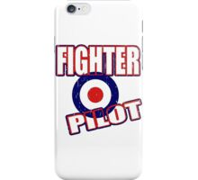 Fighter Pilot UK iPhone Case/Skin