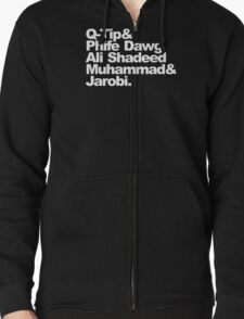 """""""A Tribe Called Quest"""" Team Zipped Hoodie"""