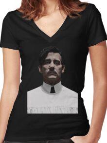 """John """"Thack"""" Thackery Women's Fitted V-Neck T-Shirt"""