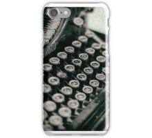 Vintage Typewriter - vers. 2 iPhone Case/Skin