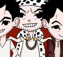 Faces of Moriarty Sticker