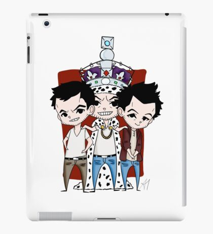 Faces of Moriarty iPad Case/Skin