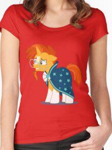 My Little Pony Sunburst Women's Fitted Scoop T-Shirt
