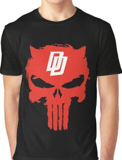 Daredevil The Punisher Symbol Graphic T-Shirt