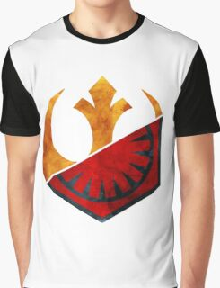 Star Wars: Resistance and the First Order 2 Graphic T-Shirt