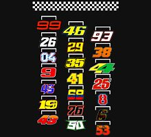 Motogp 2016 riders numbers in starting grid Unisex T-Shirt
