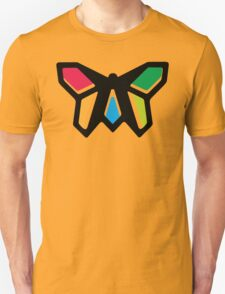 Rainbow Anigami Butterfly T-Shirt