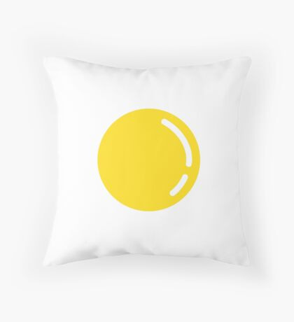 Yolk Throw Pillow