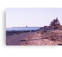 At The High Tide Line Canvas Print