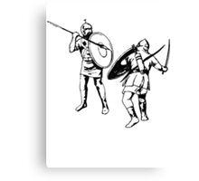 Biblical Battle Canvas Print