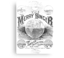 The Merry Singer Canvas Print