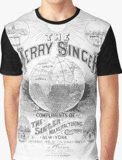 The Merry Singer Graphic T-Shirt