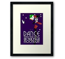 Dance with the Devil in the Pale Moonlight Framed Print