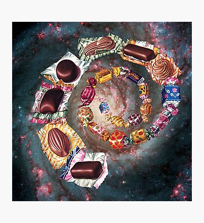 Candy Galaxy Photographic Print