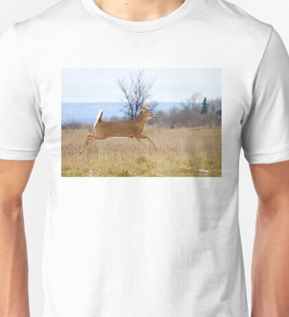 Deer Run - White-tailed deer T-Shirt