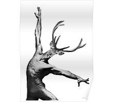 Deer's dance Poster