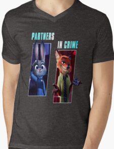 Zootopia Partners in Crime Mens V-Neck T-Shirt