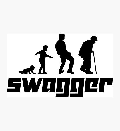 Swagger Photographic Print