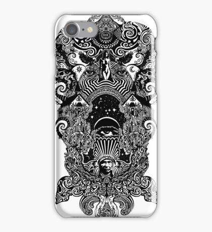 trip drawing ink iPhone Case/Skin