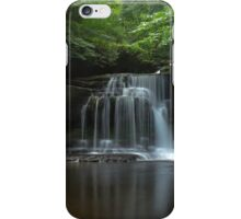 Waterfall, West Burton iPhone Case/Skin