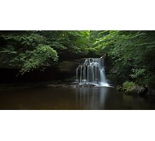 Waterfall, West Burton Photographic Print