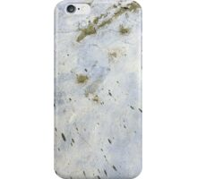 Peeling Paint Abstract Background Texture iPhone Case/Skin