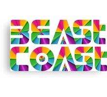 beast coast movement Canvas Print